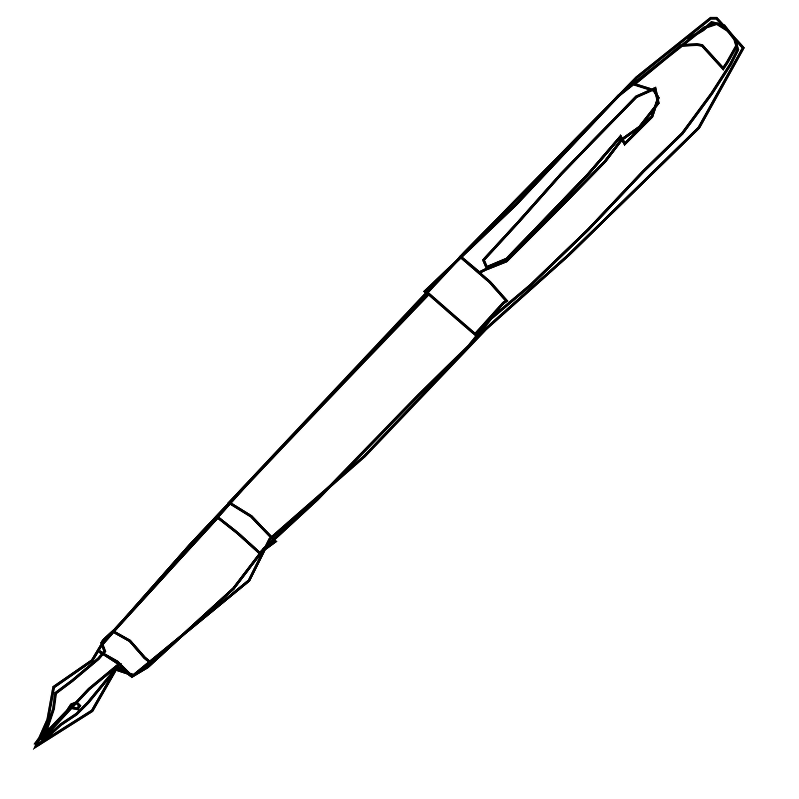 Line Drawing Pen : Ginger coons learns to
