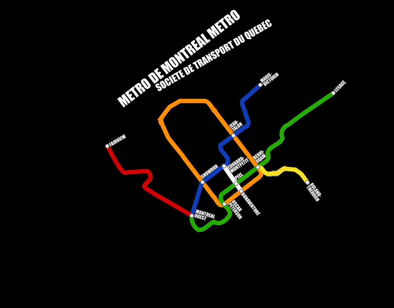 Stcum Metro Map.Ginger Coons Her Portfolio Montreal Metro Map Circa 2032